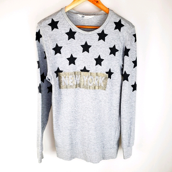 H&M size 14 long sleeve top
